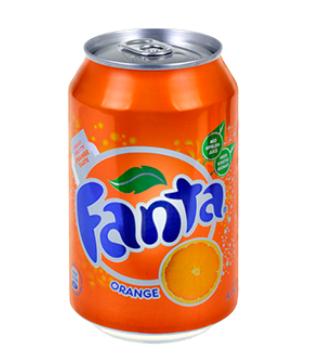 Fanta Orange 24x33cl blik