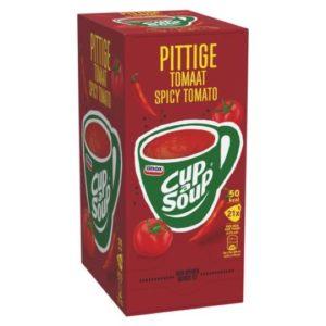 cup a soup pittig tomaat