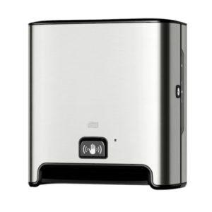 Tork handdoekrol dispenser met sensor matic H1 zilver
