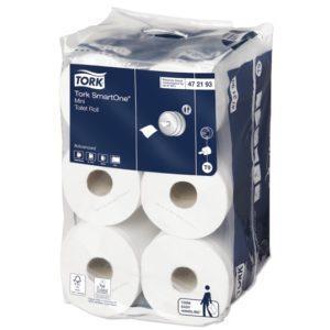 Art.nr.: 472193 Tork SmartOne® Mini Toiletpapier