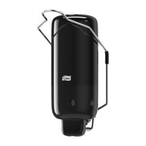 Art.nr.: 560108 Tork Vloeibare- en Sprayzeep Dispenser met Armbeugel