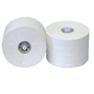 Euro Toiletpapier doprol Recycled wit 2lgs 36x100mtr